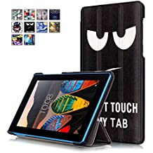 Lenovo Tab3 7 Funda, WindTeco Ultra Delgado y Ligero Smart Case Funda Carcasa con Soporte Función para Lenovo Tab3 7 Pulgadas Tablet 2016 Release (NO para Lenovo Tab3 7 Essential)