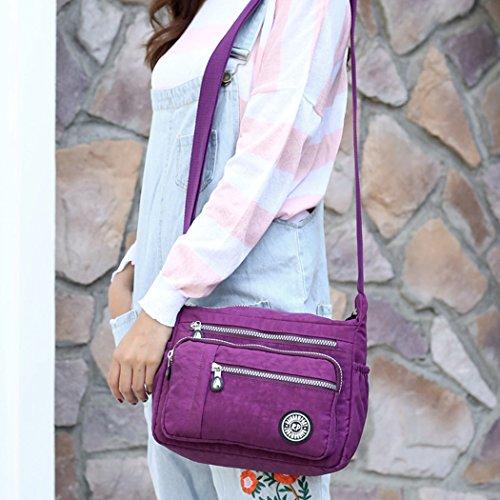 Moonbuy, Borsa a tracolla donna S Purple