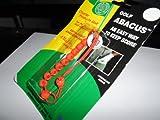 Abacus Golf Score einfache Möglichkeit, Schlagzähler, Orange