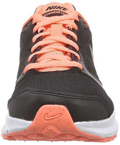Nike Wmns Downshifter 6, Scarpe da Ginnastica Donna Multicolore (Black/Black-Atomic Pink)
