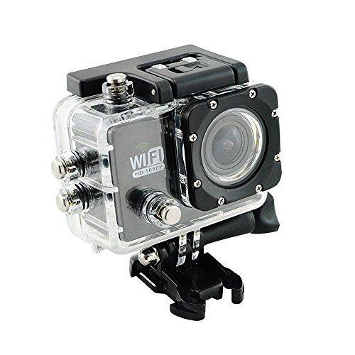 Denshine WiFi Sport Action Kamera High Definition 1080P 170¡ã Objektiv wasserdichte Digitalkamera DVCAM-Camcorder