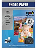 "PPD 6x4 Inkjet Fotopapier für Tintenstrahldrucker glänzend hglossy hochglänzend 280g Super Premium, 6x4"" ca. 10x15cm x 100 Blatt PPD-22-100"