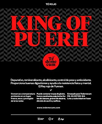 Thé Premium KING OF PU ERH 100gr