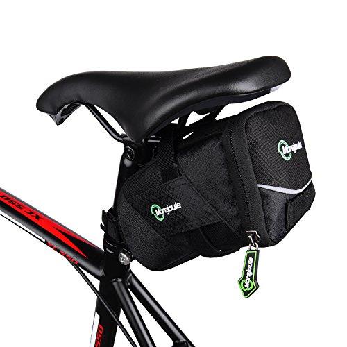 Satteltasche **TopHill**, Premium Fahrradtasche für Sattelstütze im schicken Design, Schnellverschlusssystem, viel Fassungsvermögen, viele Fächer im Stauraum, E-Bike, Rennrad und MTB, - Topeak Schlauch-tasche