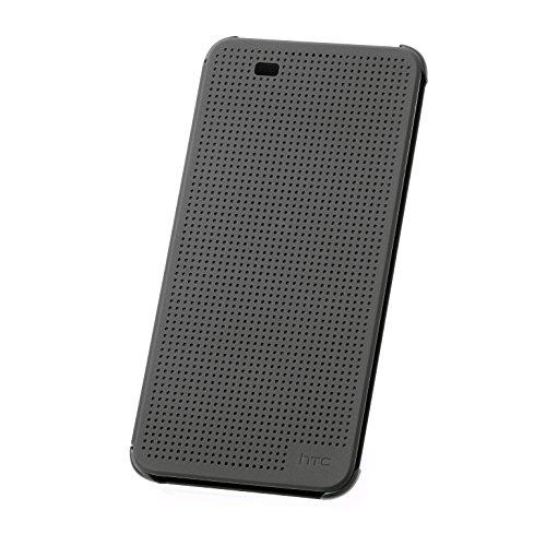 HTC Dot View Buch Hülle für Desire 820 schwarz
