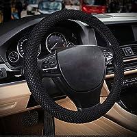 RayAuto Housse de volant de voiture respirante et antitranspirante Sans odeur Taille standard