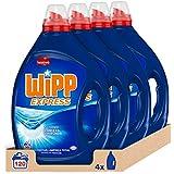 Wipp Express Detersivo Liquido Blu 30 Lavaggi, confezione da 4