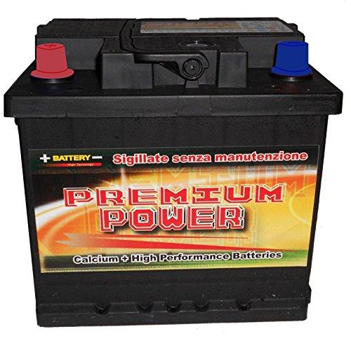 Preisvergleich Produktbild Batterie Auto 82 Ah 12 V (680 A) – bmw-fiat- mercedes- Volkswagen,  etc. Versiegelte SMF