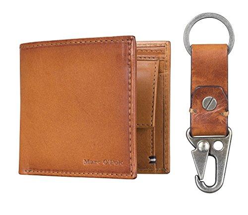 Marc O´Polo Herren Geldbeutel Portemonnaie Geldbörse mit Schlüsselanhänger 4975