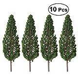 winomo 100Modell Bäume Landschaft Landschaft Park Street Diorama Scenery Layout Miniatur-Landschaft Scenery (13cm)