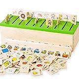 immagine prodotto FOKOM Legno Magic Box Giocattoli di Intelligenza dei Bambini