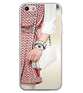 PrintVisa Designer Back Case Cover for Apple iPhone 4 (Lady Handbag Watch Bracelet Girly )