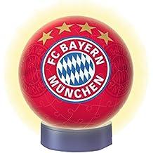 Ravensburger 3D-Puzzle 12177 - Nachtlicht FC Bayern München, bunt