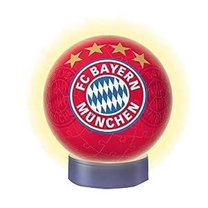 Ravensburger Puzzle 3D 12177 - Luz nocturna Bayern Múnich, colorido