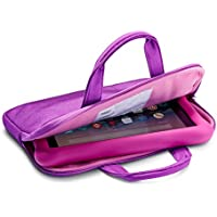 NuPro Zipper Sleeve for Fire 7 Kids Edition Tablet, Purple/Pink