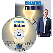 Creative Thinking Hypnosis CD - hypnotherapy session to increase your creativity and help to become more imaginative as your imagination improves, so whether you are problem solving or writing a book this is how to ignite that creative spark and get that inspired inspiration