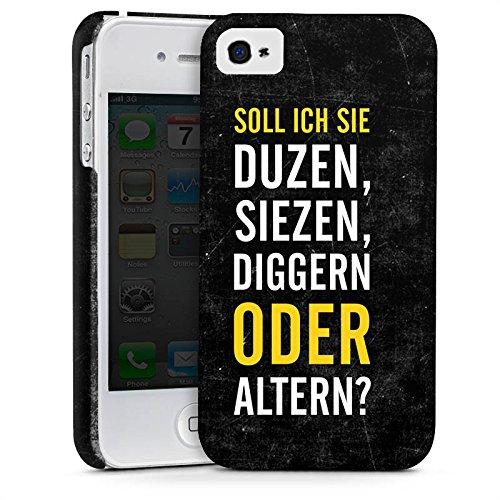 Apple iPhone X Silikon Hülle Case Schutzhülle Humor Lustig Sprüche Premium Case glänzend