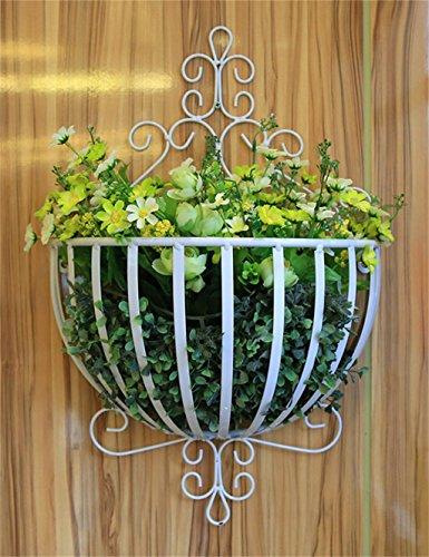 Jardin Fer multi - Storey Pots de fleurs Shelf usine stand rack Salon Balcon Fleur (couleur : Blanc)