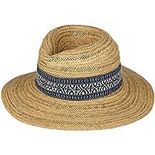 Tumia - Sombrero Panamá Fedora - Versión no Enrollable - Blanco o ... 94223e92ab7