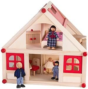 Nuovo nome articolo Legnoland 35686 - Casa in Legno, 33 Pezzi
