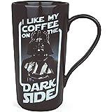 Star wars-latte Macchiato taza cerámica 500ml-darth Vader gran tema y de forma segura se envía en una caja de regalo.