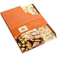 Lauenstein Confiserie Lauensteiner Burgtafel Mandel Pistazie orange/weiß, 1er Pack (1 x 275 g)