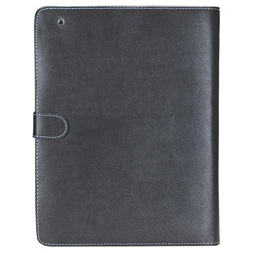 Manhattan Lederetui für iPad eisgrau -