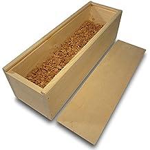 Regalo de vino/Caja de vino con corcho granulado (embalaje de regalo de vino, botella de vino, regalo de vino, caja de madera, cajita de vino)