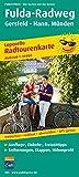 Fulda-Radweg, Gersfeld - Hann. Münden: Leporello Radtourenkarte mit Ausflugszielen, Einkehr- & Freizeittipps, wetterfest, reissfest, abwischbar, GPS-genau. 1:50000 (Leporello Radtourenkarte / LEP-RK)