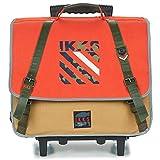 IKKS Army Trolley CARTABLE 41 cm Ranzen/Aktentasche Jungen Orange - Einheitsgrösse -...