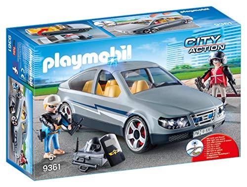 Playmobil- Coche Civil de Las Fuerzas Especiales Juguete, Multicolor (geobra Brandstätter 9361)