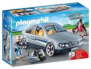 Playmobil- Coche Civil de Las Fuerzas Especiales Juguete, (geobra Brandstätter 9361)