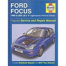 Ford Focus Service and Repair Manual (Haynes Service and Repair Manuals) by R. M. Jex (2001-11-13)