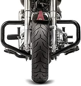 Sturzbügel Mustache Für Harley Davidson Fat Boy 00 17 Schwarz Auto