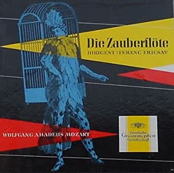 Wolfgang Amadeus Mozart Die Zauberflöte (VINYL-BOX) Sonderauflage