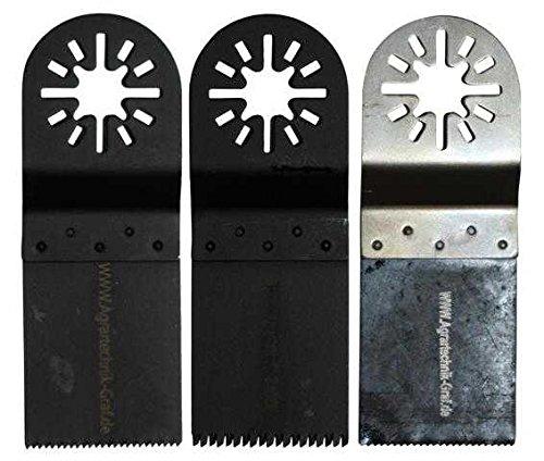 Agrartechnik-Graf Sägeblatt 3er Set Inkl. Bimetall für Bosch GOP