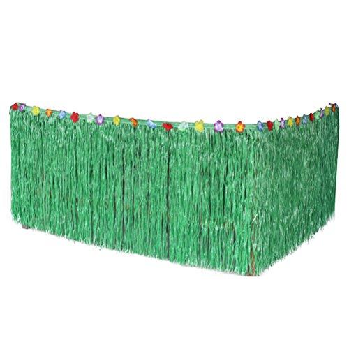 Tinksky-Falda-de-tabla-hawaiana-hierba-falda-de-escritorio-para-fiesta-de-Luau-cumpleaos-fiesta-festival-decoracin-276-75cm-verde