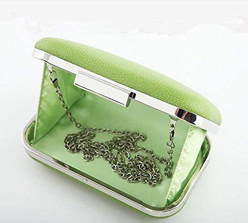 Eysee , Damen Umhängetasche grün braun 17cm*10cm*3.5cm grün