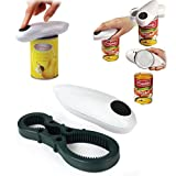 MK Electric Automatic One Touch Hand Held Can Jar Tin Opener Tools Kitchen