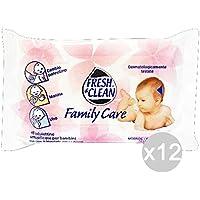 Set 12 FRESH & CLEAN Bébé Frais-X18 Famille Lingettes Clean Soins De Santé Et De Garde Des Jeunes Enfants