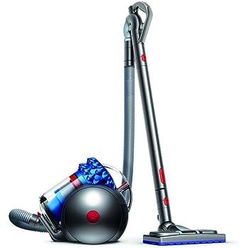 Dyson Cinetic Big Ball Musclehead Aspirateur sans sac et sans filtre à entretenir Garantie 5 ans Bleu/Gris - 3 accessoires