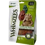 Whimzees Hedgehog Galletas para perro (bolsa con cierre) (Tamaño: grande– pack de6)