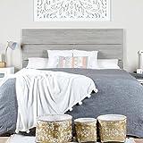 Hame Bett-Kopfteil 150/160 Grau - Holz - 162x4x101 cm - Farbe Grau