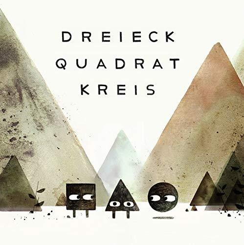 Dreieck Quadrat Kreis: Drei Bücher im Schmuckschuber, limitierte Ausgabe mit beigelegtem, signierten Kunstdruck