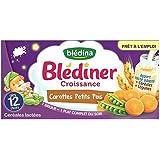 Blédina blediner croissance 2 x 250ml carottes petits pois dès 12 mois - ( Prix Unitaire ) - Envoi Rapide Et Soignée