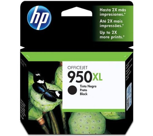 Price comparison product image Officejet 950XL Ink Cartridge - black - 2, 300 pages (CN045AE)
