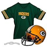 Franklin Sports NFL Replica Jugend Helm und Trikot Set, Unisex, 15720F05, Green Bay Packers, M