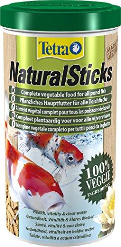 Tetra Pond Natural Sticks Aliment Végétal Complet pour Aquariophilie 1 L