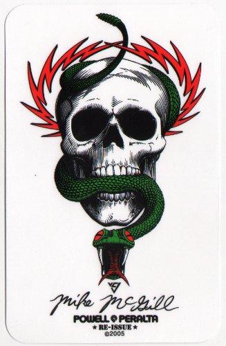 powell-peralta-skateboard-sticker-bones-brigade-mike-mcgill-official-reissue-new