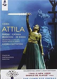 Verdi: Attila (2010) (Parodi/ Catana/ Branchini/ Andrea Battistoni/ Pier Francesco Maestrini) (C Major: 721608) [DVD] [2012] [NTSC]